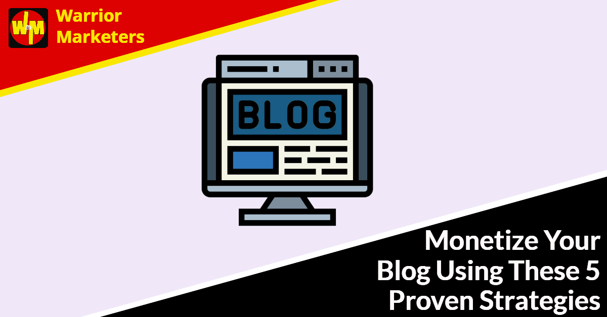 how to monetize blog